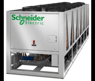 Schneider Electric XRAC/XRAF inverteres ipari folyadékhűtő