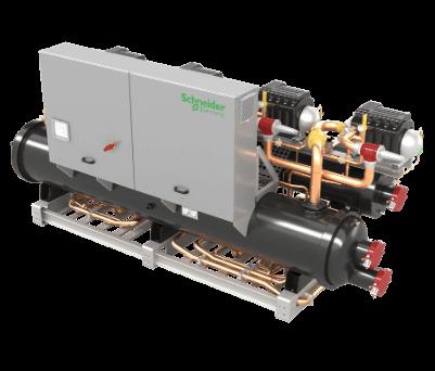 BCWC turbocor vízhűtéses ipari folyadékhűtő